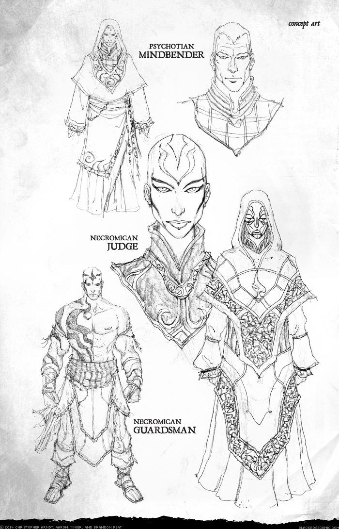 Concept Art: Ishtakaran Death Squad