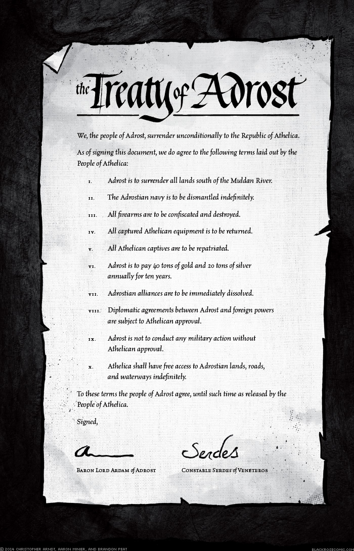 The Treaty of Adrost